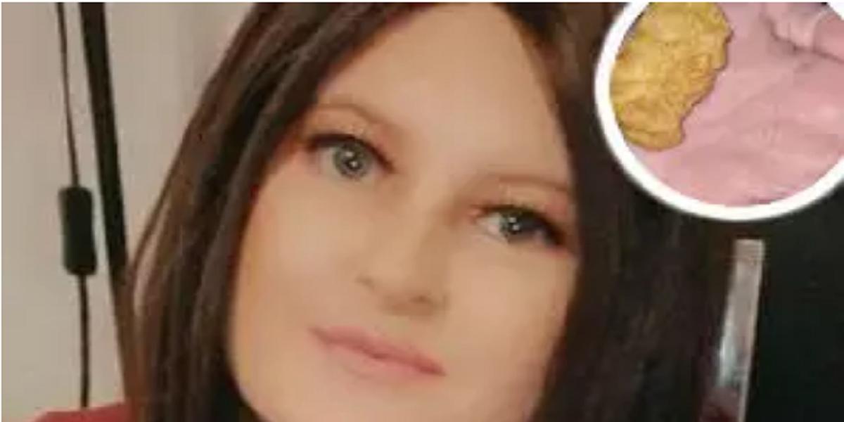 girl McDonalds Nuggets