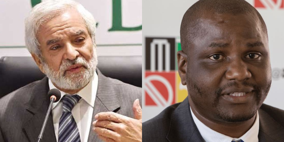Ehsan Mani and Zimbabwe Chairman