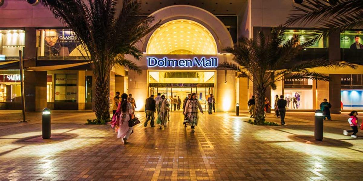 Dolmen Mall Tariq Road sealed