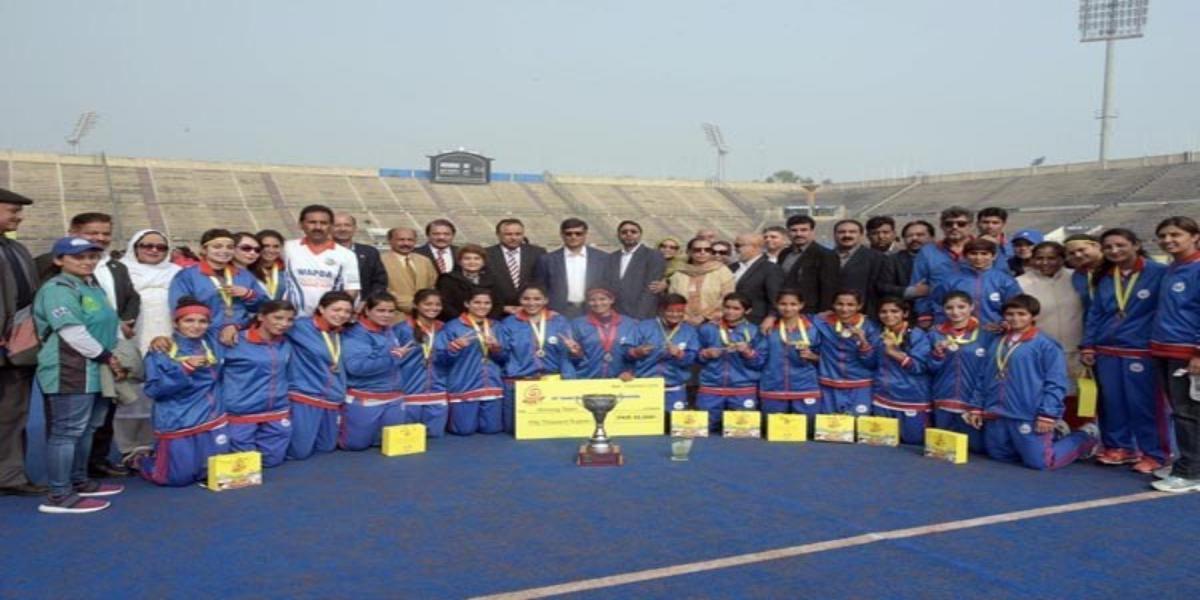 Ceremony held in honor of National Champion WAPDA Hockey Team