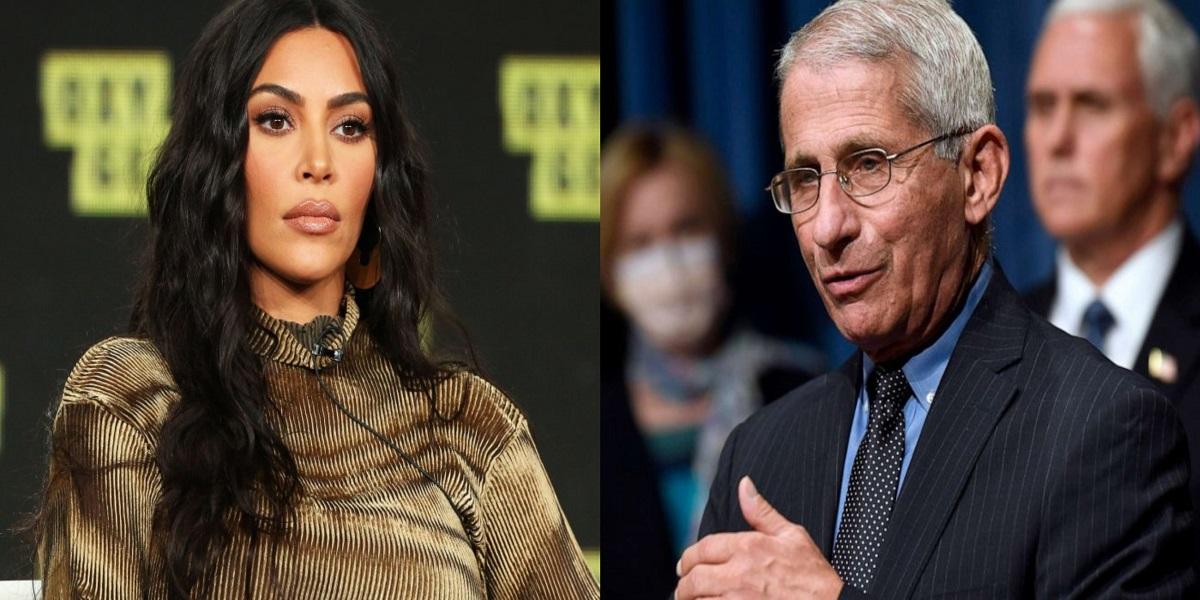 Kim Kardashian Dr. Fauci