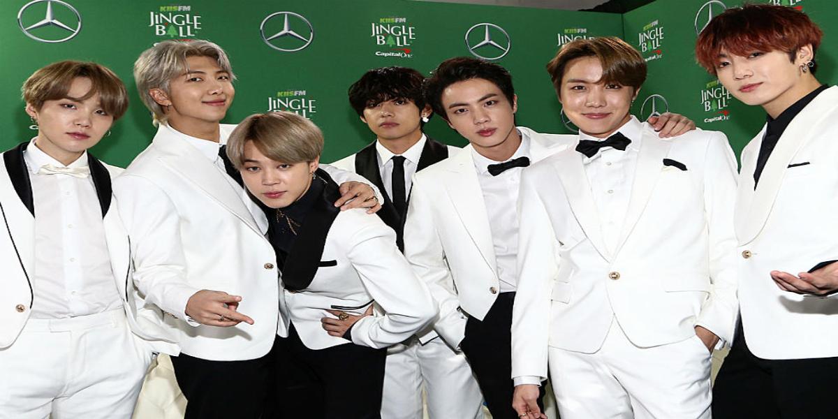BTS world's best-selling artists