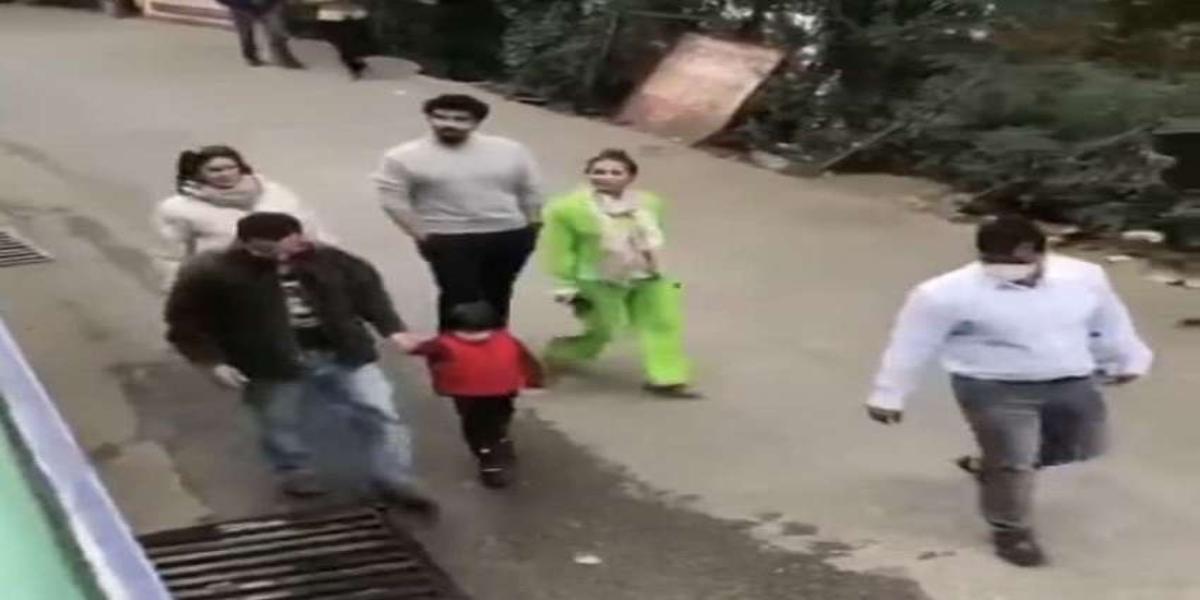 Taimur Ali Khan video