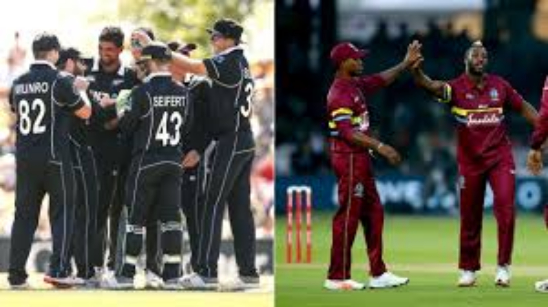 New Zealand beat West Indies in the first T20 Match