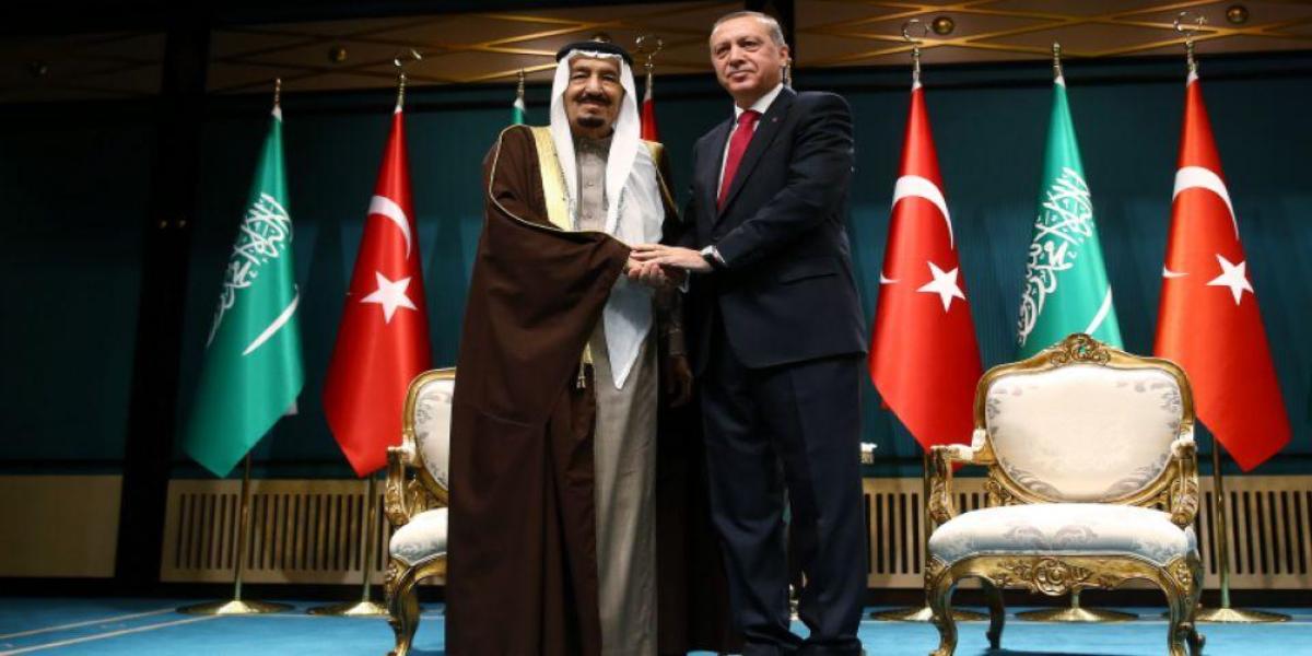 Saudi King and Turkey's President