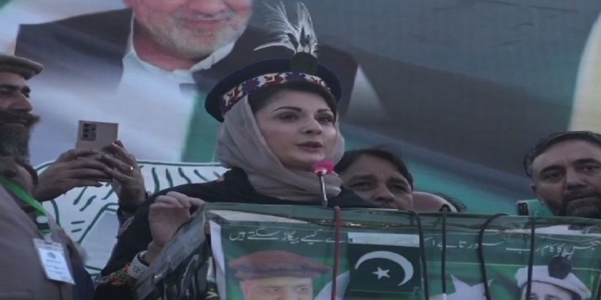 Gilgit-Baltistan Maryam Nawaz