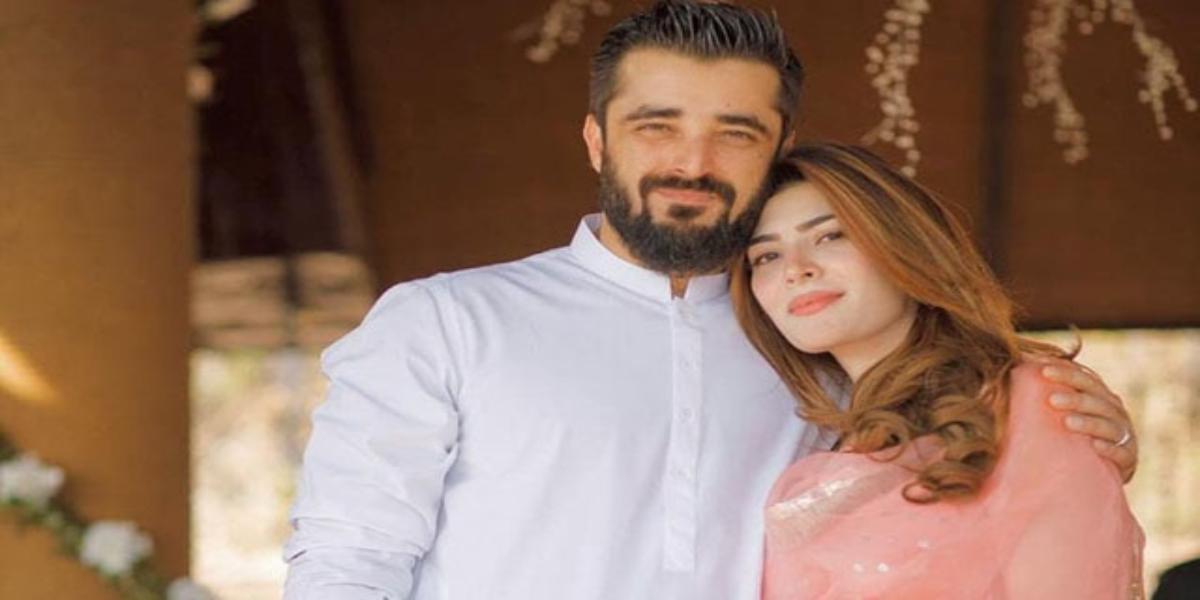 Hamza Ali and Naimal Khawar