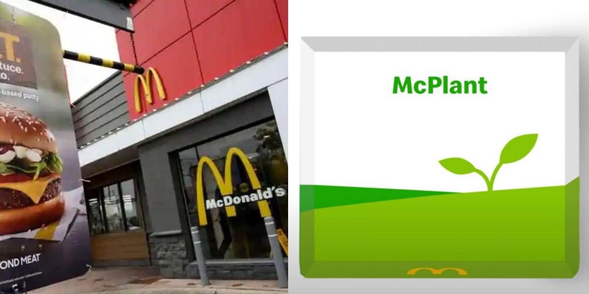 McPlant McDonald's plant-based burgers