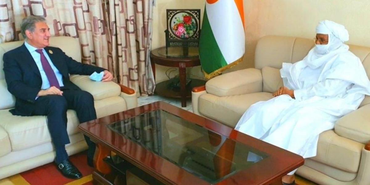 Qureshi meets Niger PM