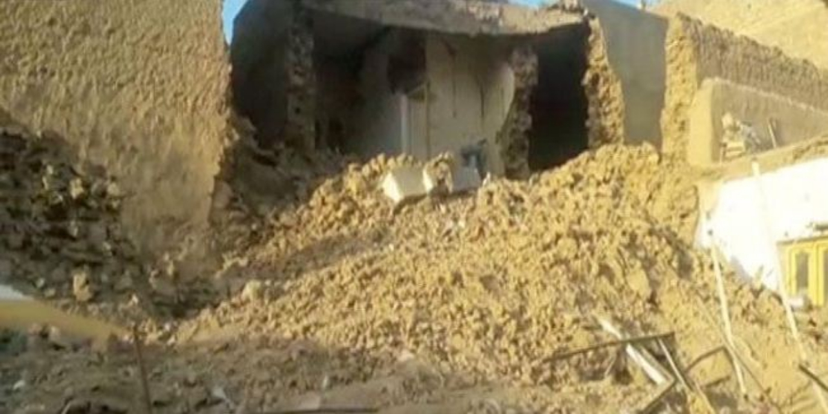 Parachinar roof collapse