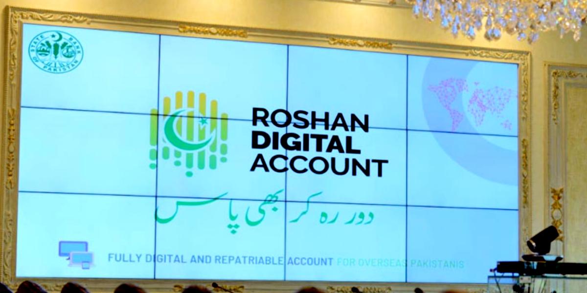 Roshan digital acount