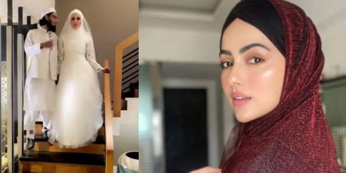 Sana Khan tied the knot