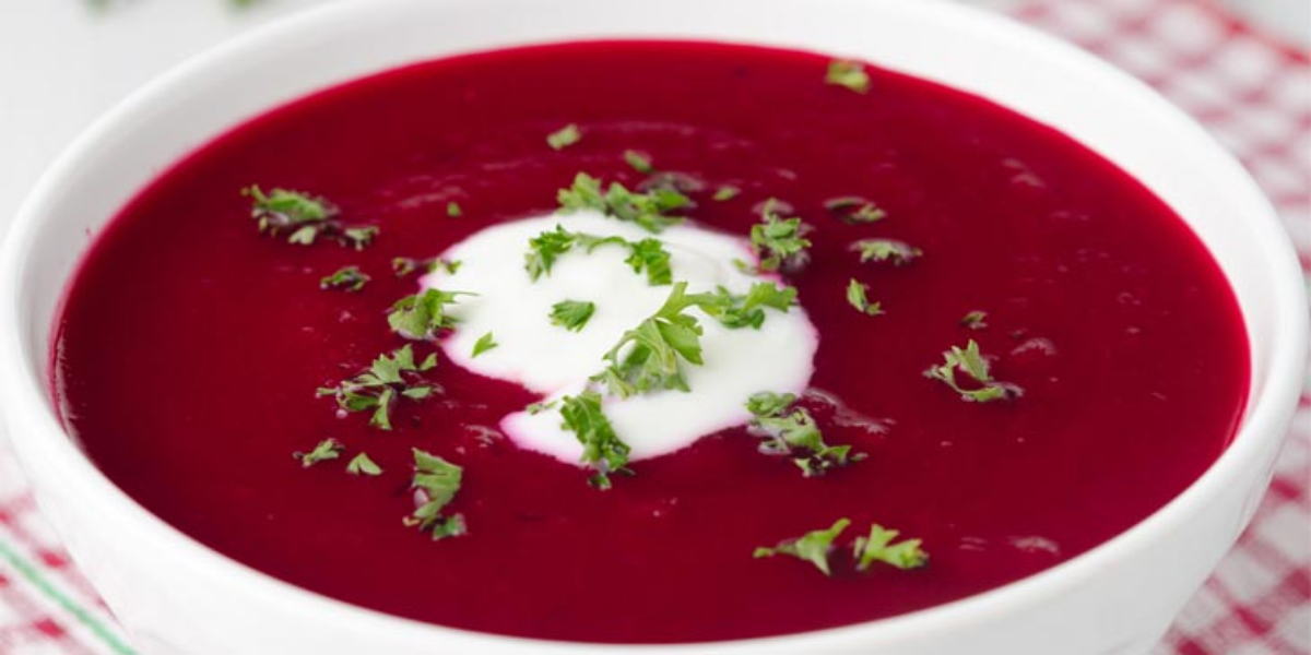 Carrot & Beetroot Soup
