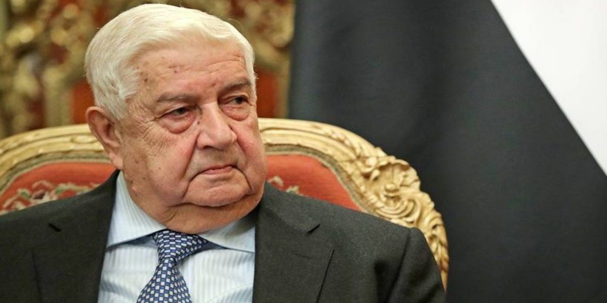Syrian Foreign Minister dies