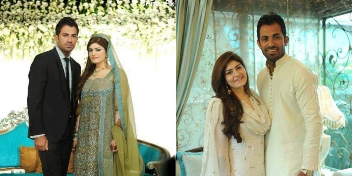 Wahab Riaz wedding anniversary
