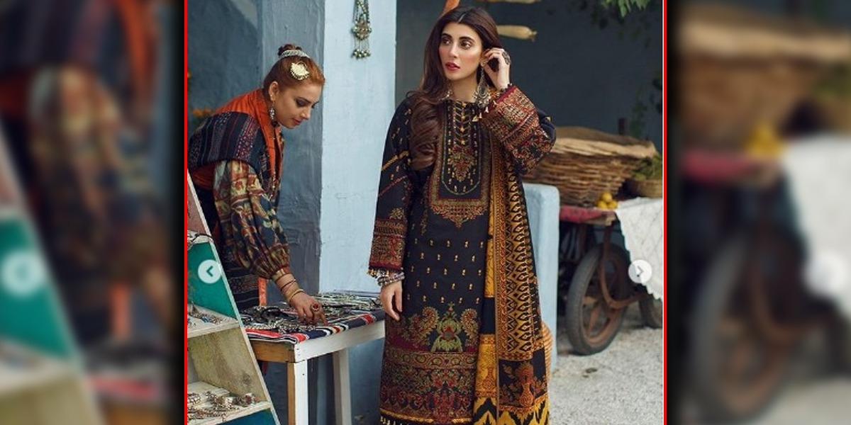 Urwa Hocane Flaunts Her Desi Look With Heavily Embroidered Outfit