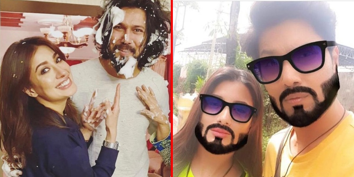 Mehwish Hayat Shares Photos With Her Brother On His Birthday