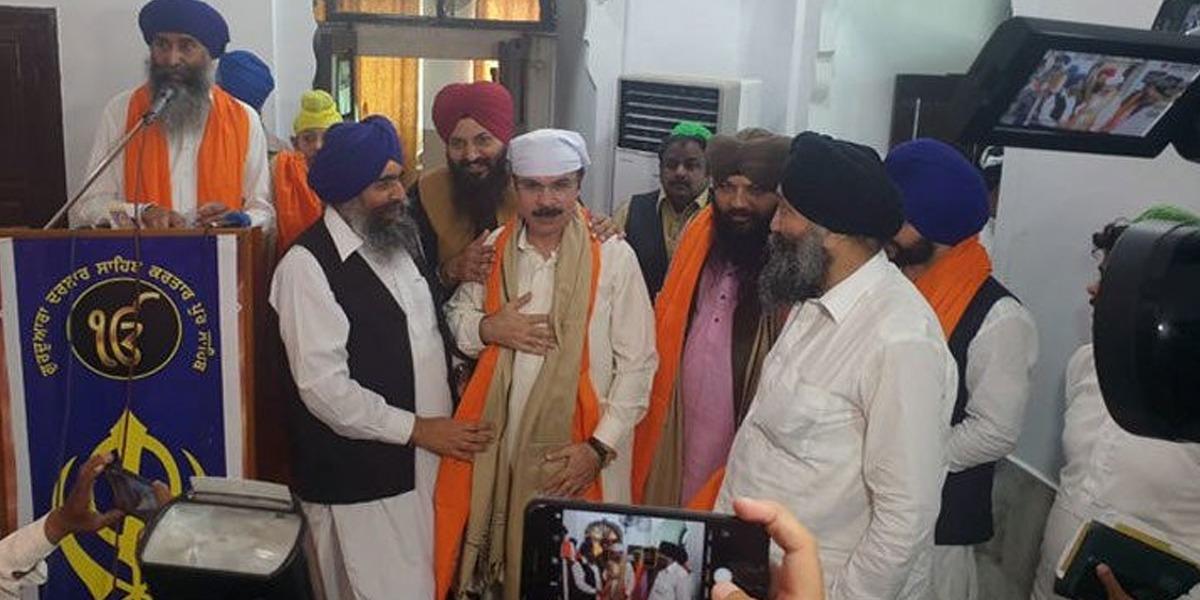 Baba Guru Nanak's 551st Birth Anniversary:Over 600 Sikhs Arrive From India