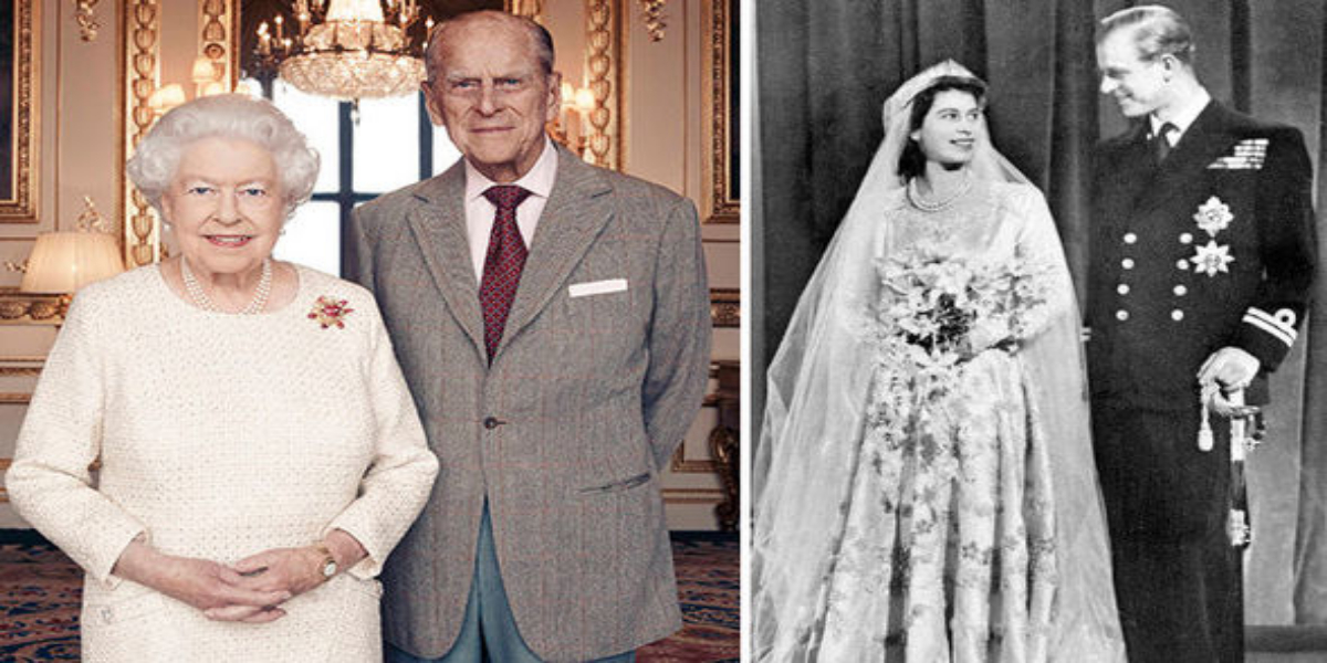 Britain's Queen And Husband Philip Celebrate 73rd Wedding Anniversary