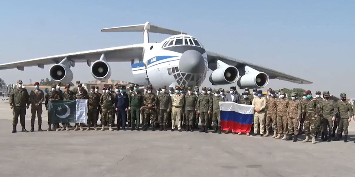 Russian Federation Special Forces' Contingent Arrives In Pakistan