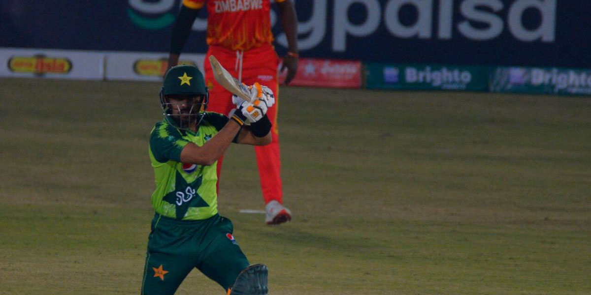 Pakistan Defeats Zimbabwe By 6 Wickets In First T20 Match