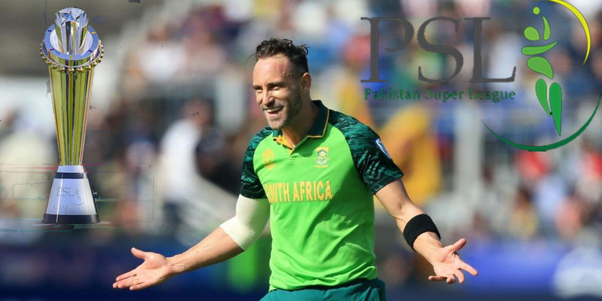 Du Plessis, 20 Other Foreign Players Set To Feature In PSL Playoffs