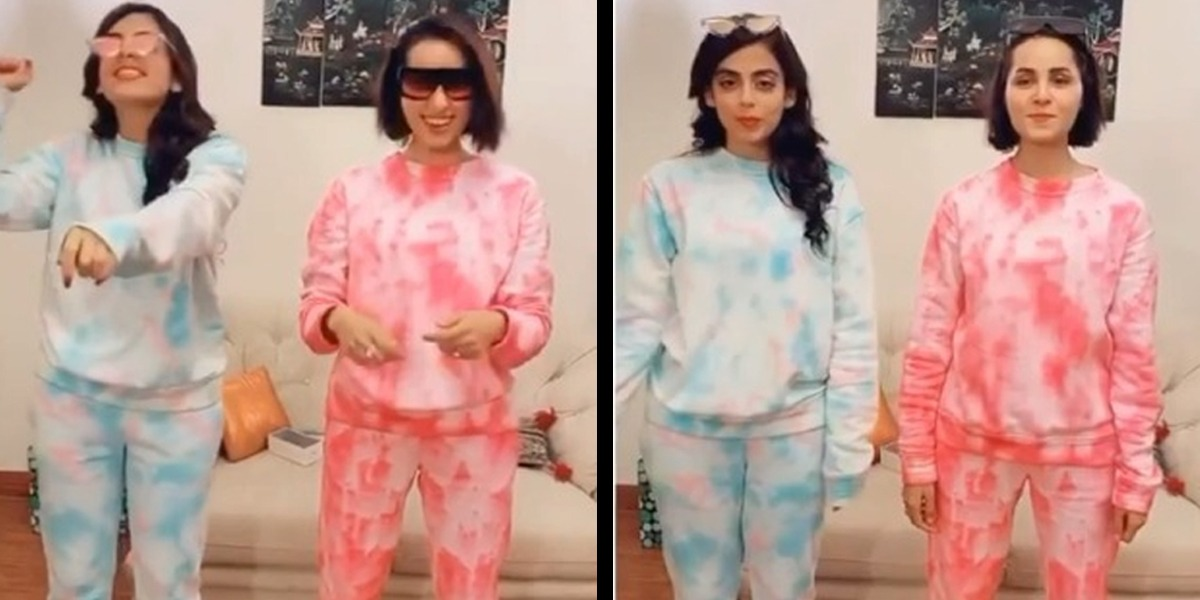 Yashma Gill, Nimra Khan Kill It With Their Savage Love Dance Moves