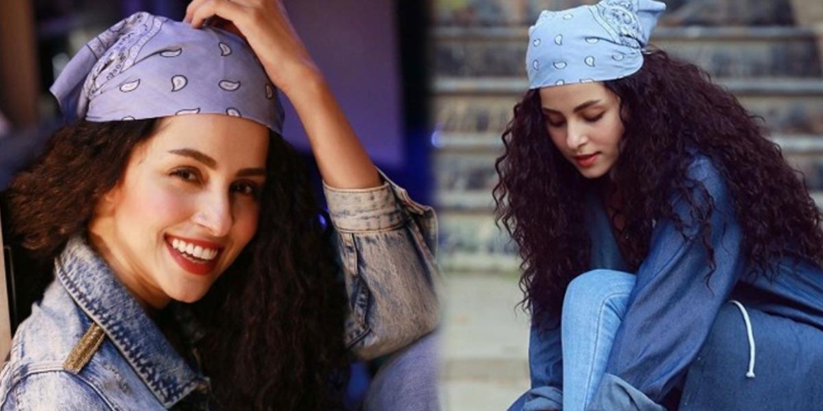 Nimra Khan Aces Comfy Winter Fashion In Denim