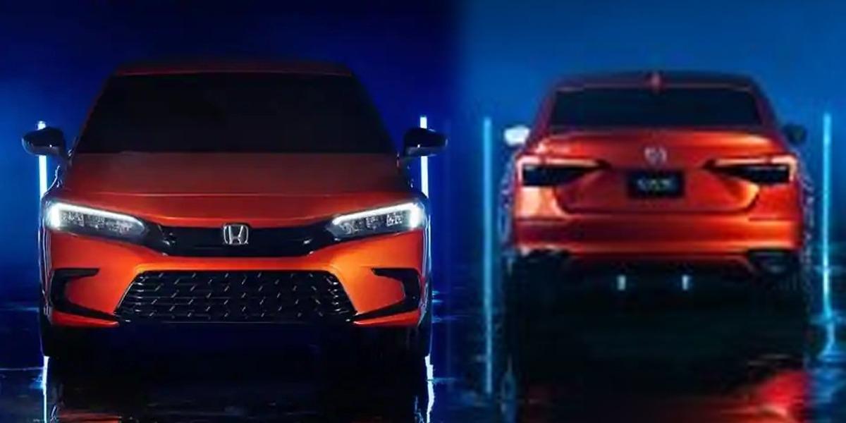 11th Generation 2022 Honda Civic Prototype, First Look