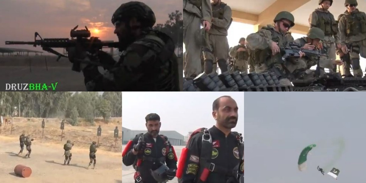 Pak-Russia Joint Exercise DRUZHBA-V Concludes