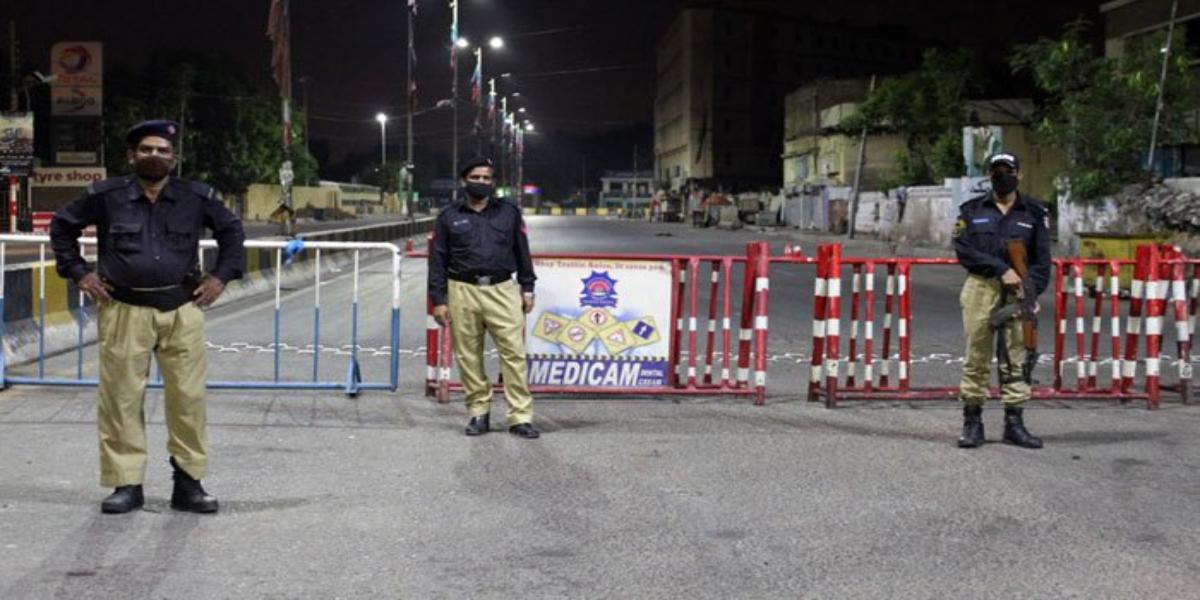 Lockdown Enforced In Two Districts Of Karachi