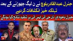 General Abdul Qadir Baloch Latest Interview with Jameel Farooqui Complete Episode 8th Nov 2020