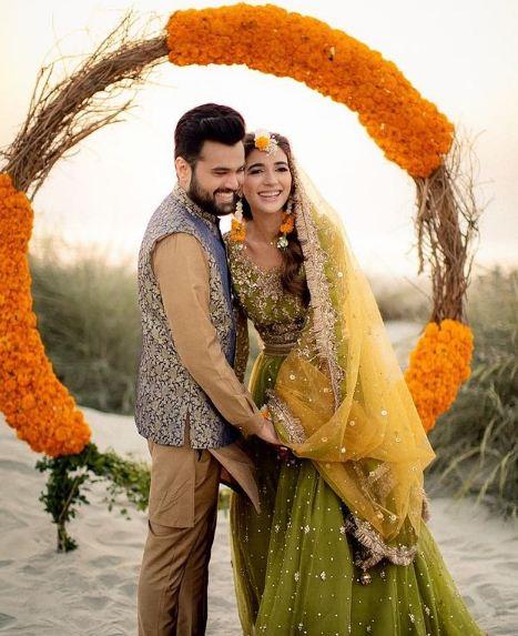 Rabab Hashim married