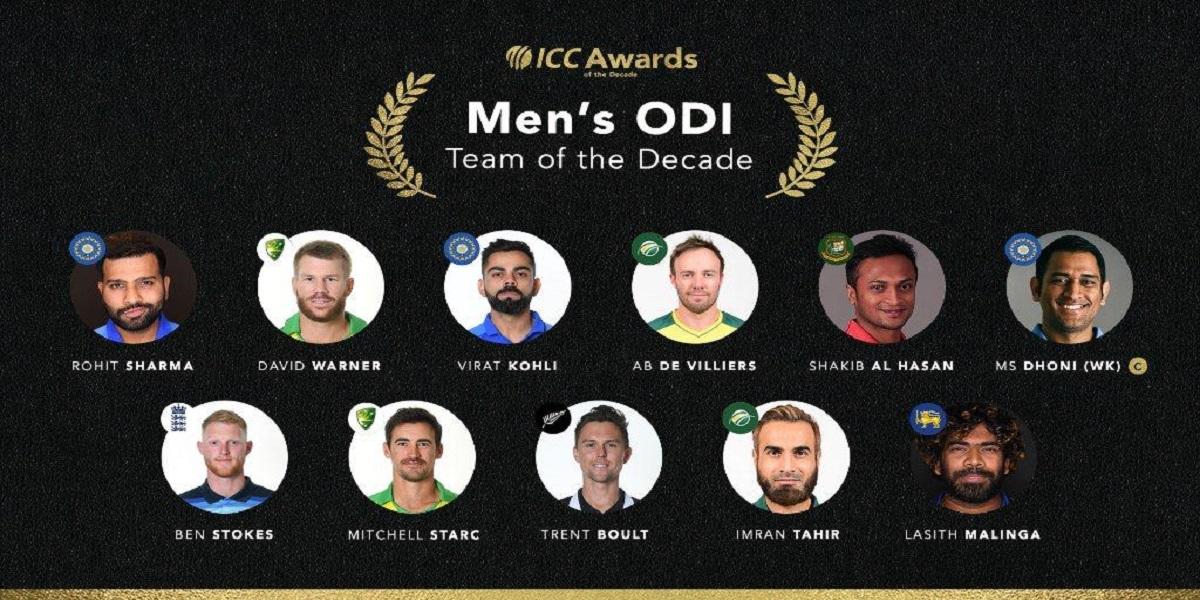 ICC team of the decade