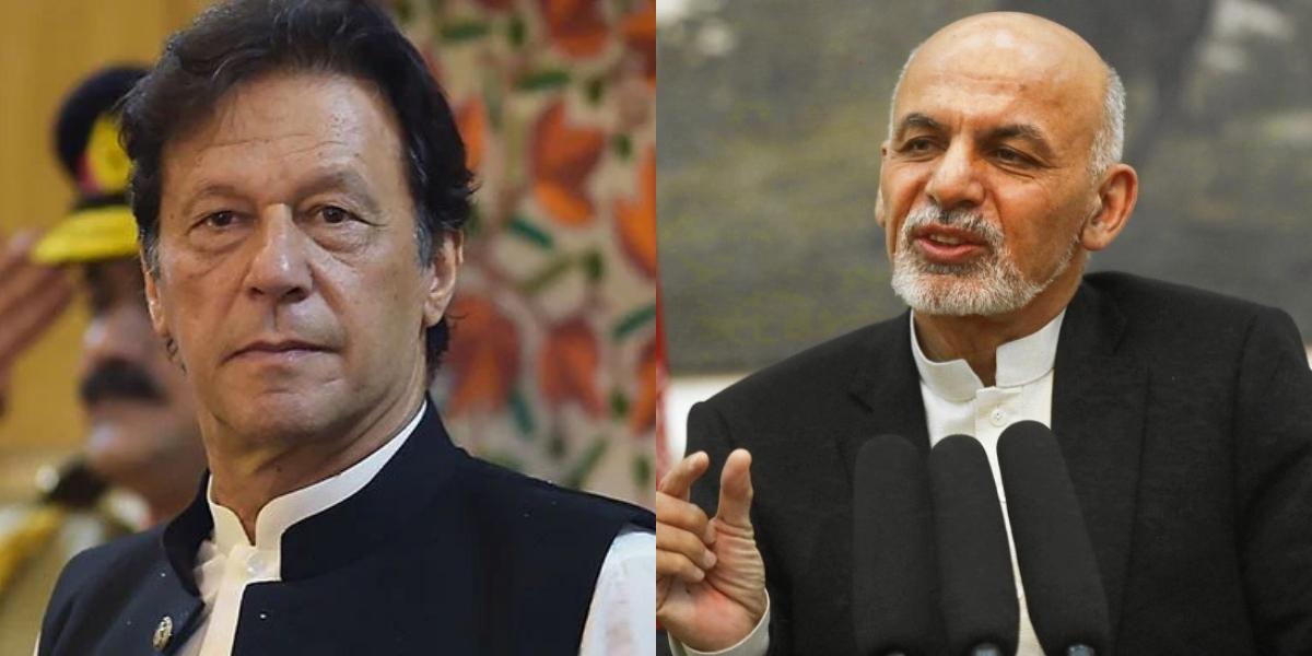 President Ashraf Ghani Imran Khan