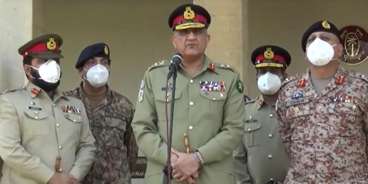 COAS Bajwa in Karachi