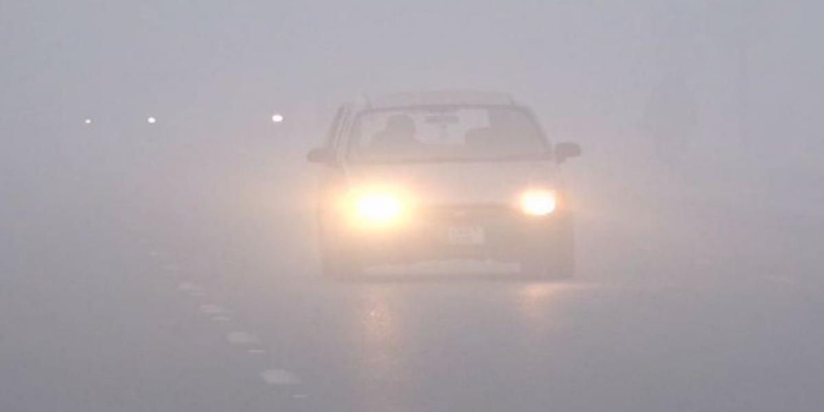 Dense fog in Punjab