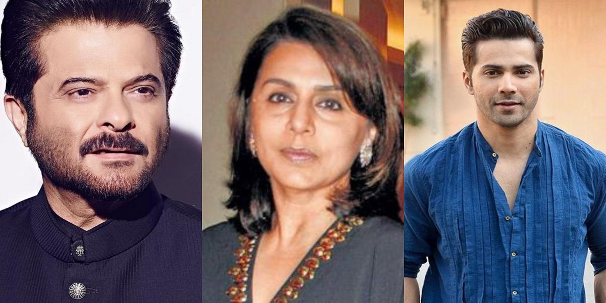Varun Dhawan, Neetu Kapoor & Anil Kapoor