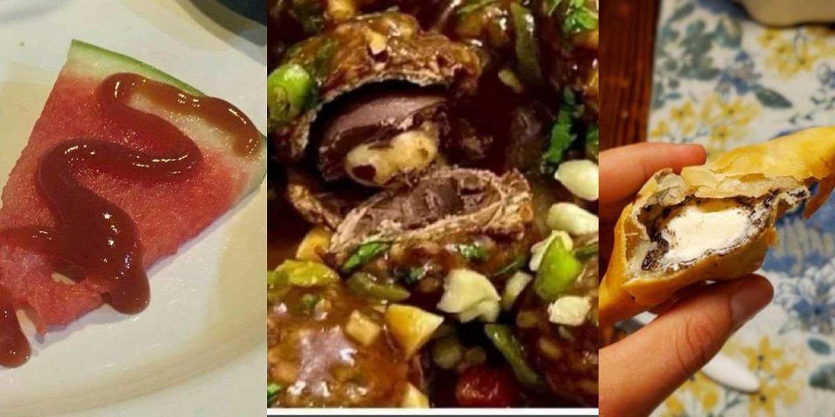 bizarre food combinations