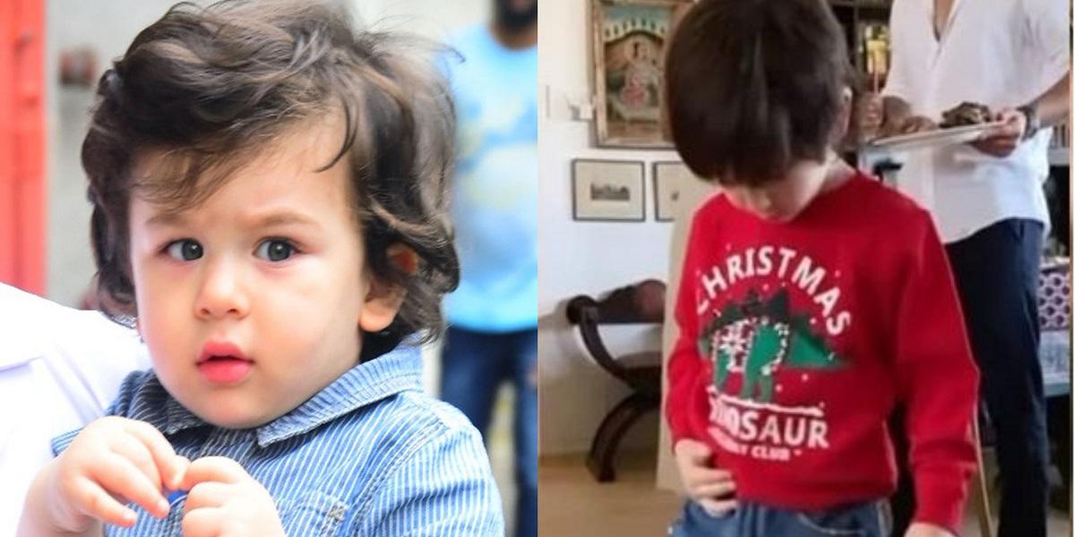 Taimur Ali Khan Christmassy sweatshirt