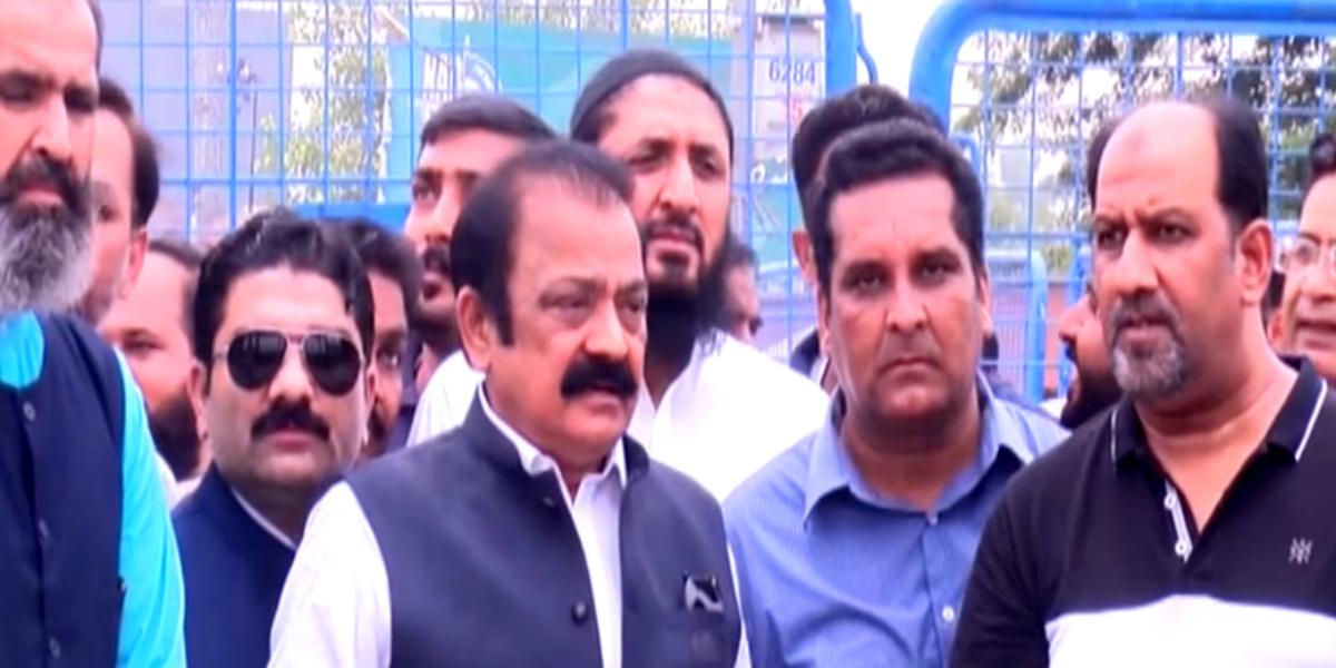 Rana Sanaullah demands placement of PM Khan's name on ECL