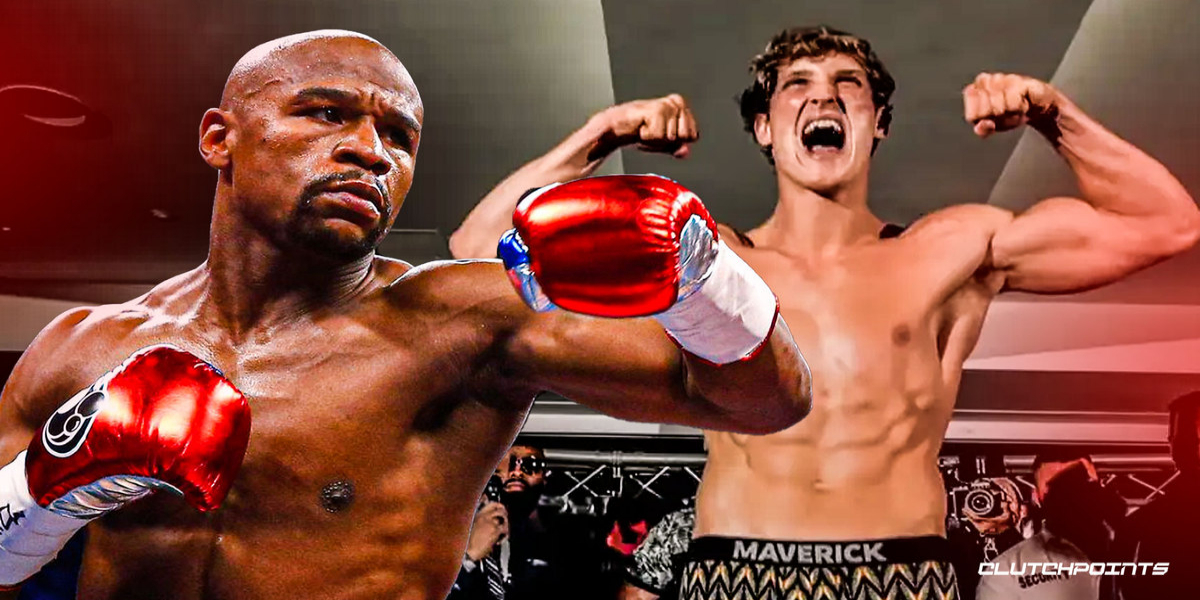 Mayweather vs. Logan Paul set for the fight in February 2021