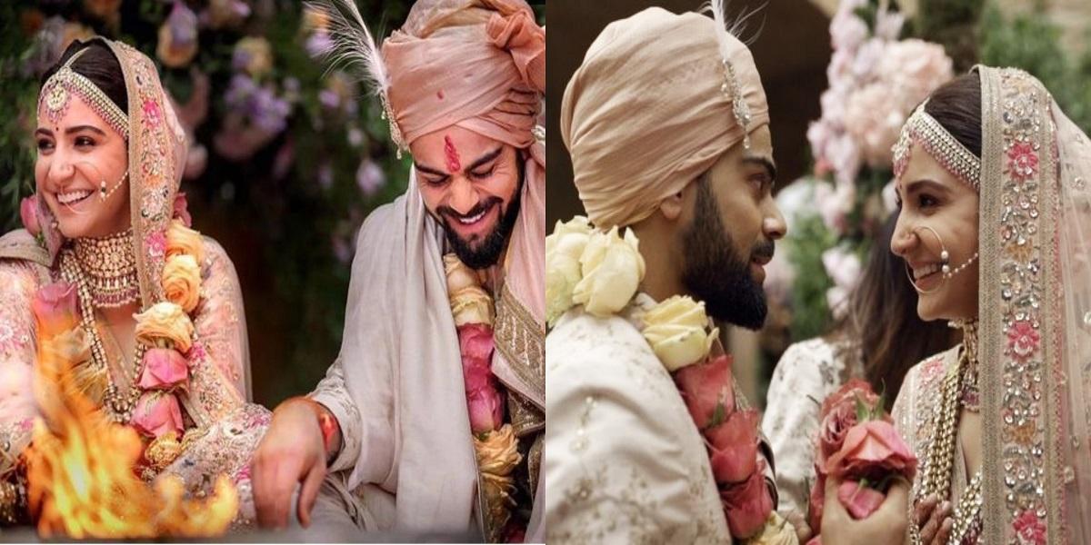 Anushka Virat wedding anniversary