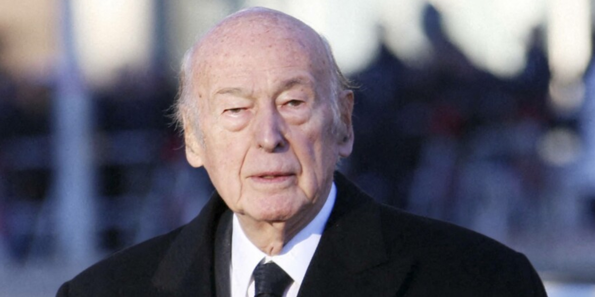 Valéry Giscard Former French president passed away