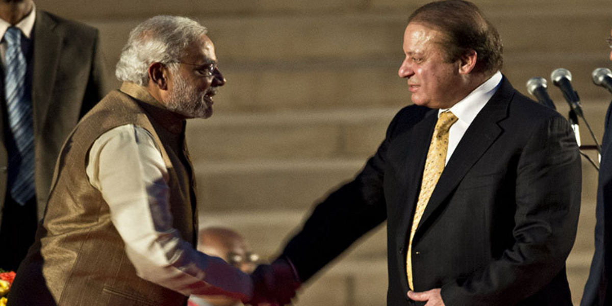 Modi writes letter to Nawaz Sharif
