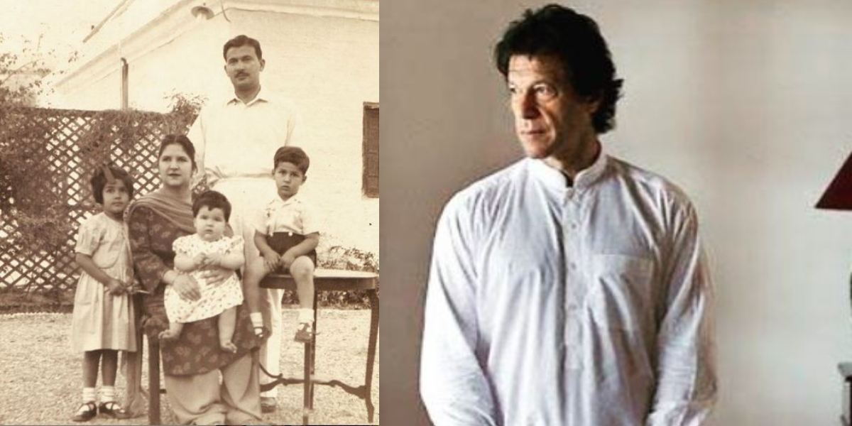 Imran Khan childhood
