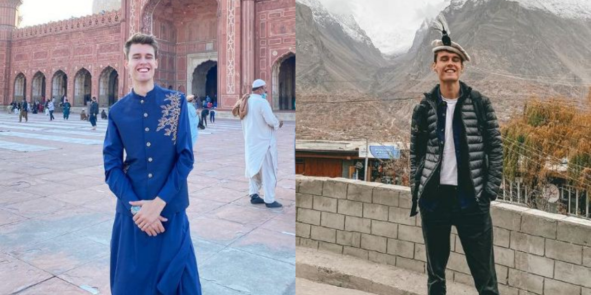 Jay Palfrey loves Pakistan