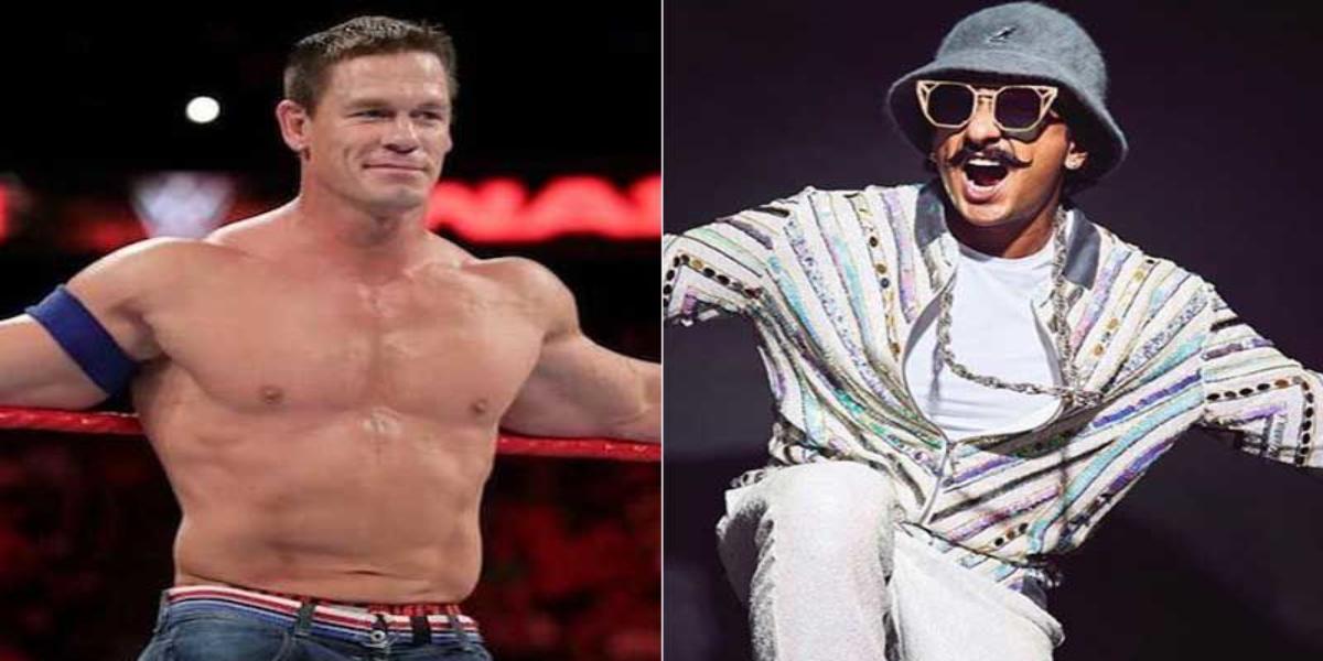 John Cena Ranveer Singh