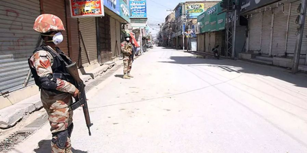 Lahore Lockdown imposed in more areas