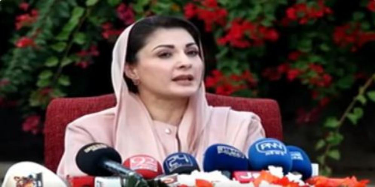 Maryam Nawaz sneers at PM Imran